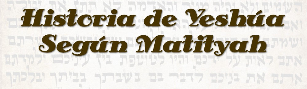 Historia de Yeshúa Según Matityah